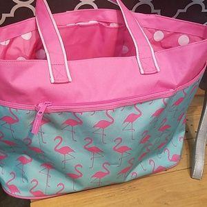 Handbags - BIG GUC FLAMINGO BEACH BAG